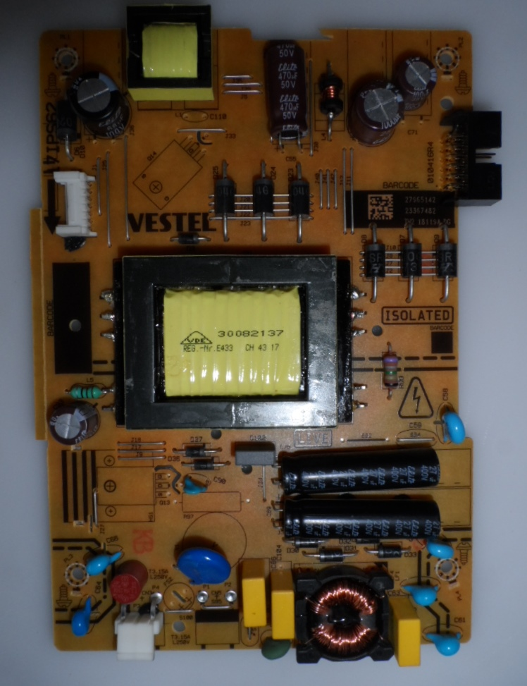 17IPS62/32INC/NEO/32470 POWER BOARD ,17IPS62, for 32 inc DISPLAY ,27965142,23367482,TH2 18119A DG,