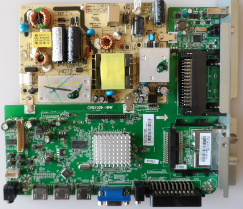 MB/CV9202H-NPW/CVB32005/JTC MAIN BOARD, KIT,CV9202H-NPW,CVB32005,
