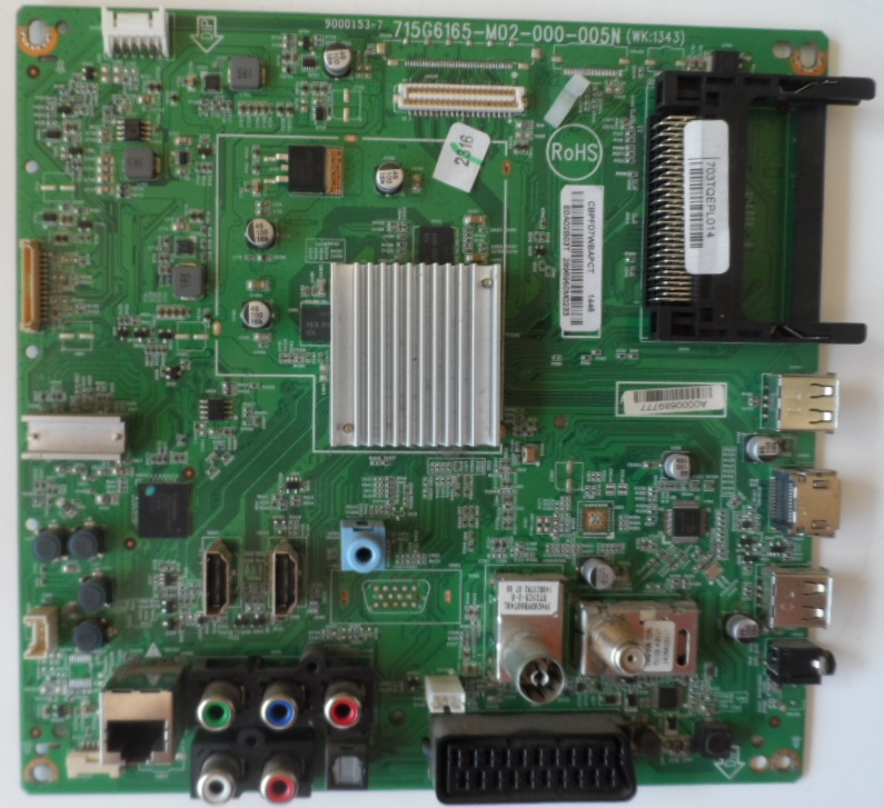 MB/42INC/PH/42PFK6109 MAIN BOARD, 715G6165-M02-000-005N, for PHILIPS 42PFK6109/12