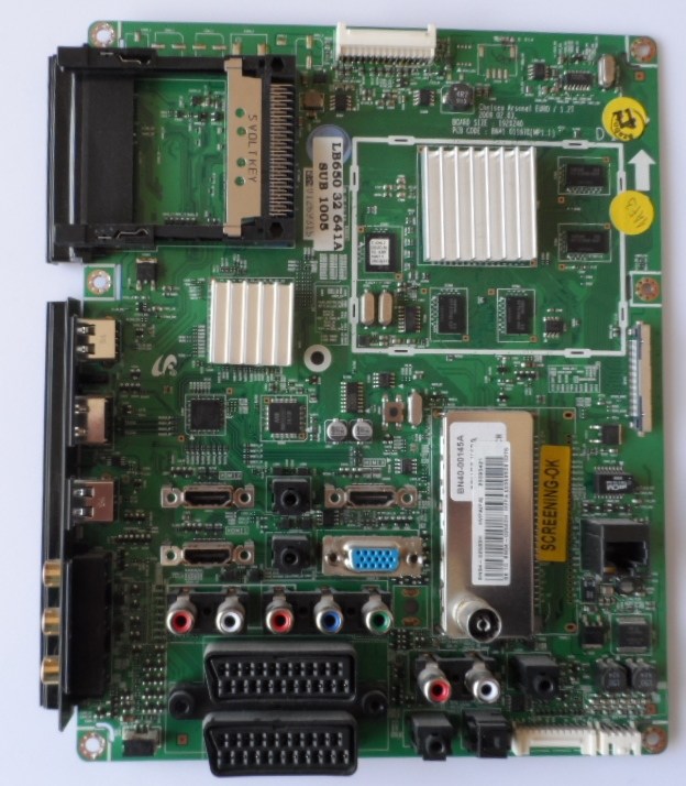 MB/BN94-02583H/SAM/32B651 MAIN BOARD ,BN94-02583H, BN41-01167B,for SAMSUNG LE32B651,