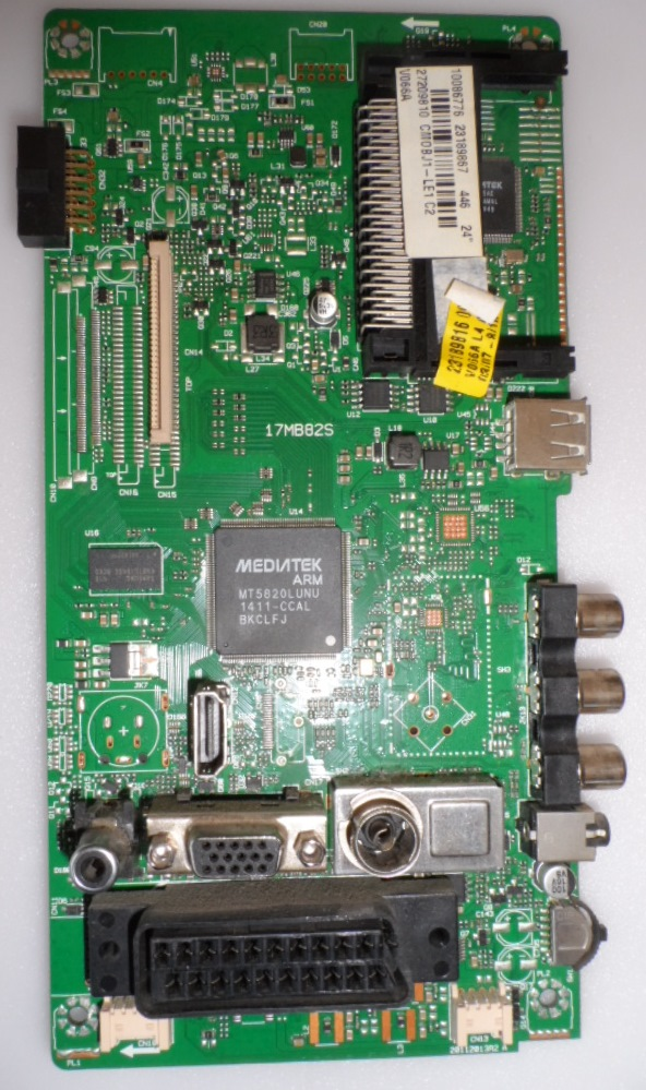 17MB82S/CROWN/24912 MAIN BOARD,17MB82S ,10086776,23189867,27209810,