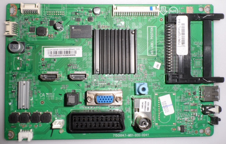 MB/24INC/PH/24PHH4000 MAIN BOARD ,715G6947-M01-000-004T, for, PHILIPS 24PHH4000,
