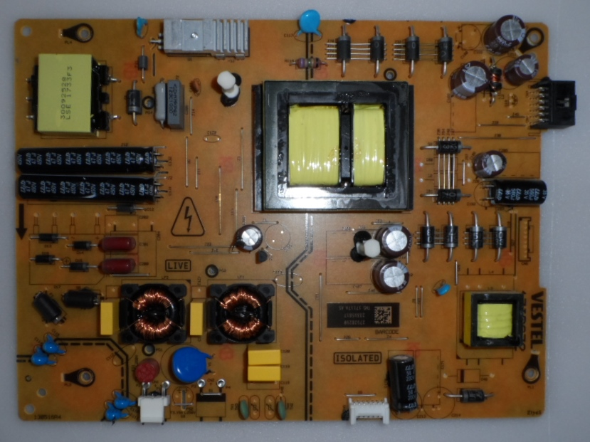 17IPS72/50INC/VES/TURBOX POWER BOARD ,17IPS72, for 50inc DISPLAY ,27928290,23395817,TH5 17117A AS,