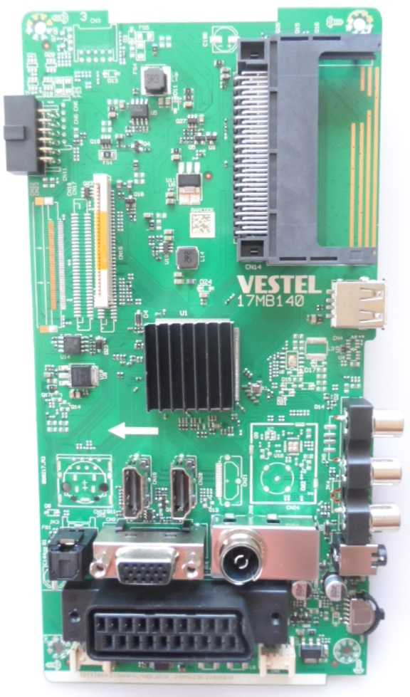 17MB140/32INC/JVC MAIN BOARD 17MB140  for 32 inc DISPLAY 10111453 23450739 27890815