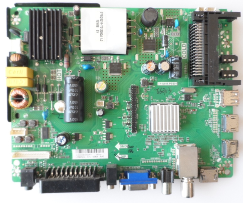 MB/TP.S506.PB801/CROWN/39169 MAIN BOARD, TP.S506.PB801 , for ,CROWN 39169,