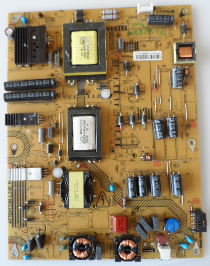 17IPS20/39-40INC/VES/MB82 POWER BOARD ,17IPS20 ,for 39-40 inc DISPLAY ,23184790 27168403,060913R6,