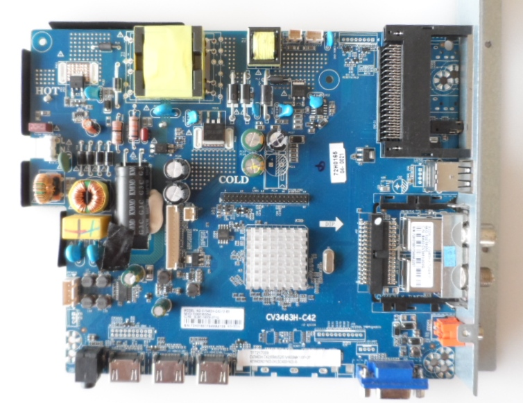 MB/CV3463H-C42/JTC/DVX4 MAIN BOARD ,CV3463H-C42 , for ,JTC model  DVX4, 40 inc DISPLAY