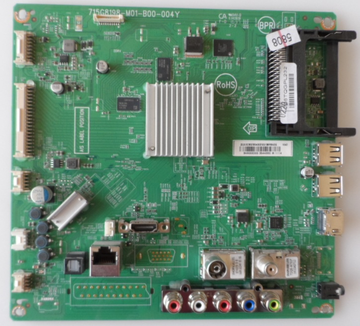 MB/43INC/PH/43PFS5301/12 MAIN BOARD ,715G8198-M01-B00-004Y, for ,PHILIPS 43PFS5301/12,