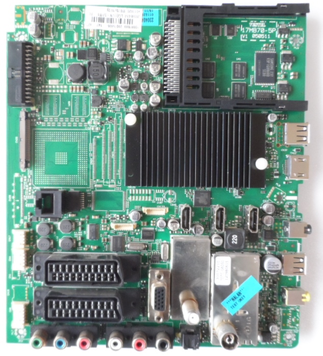 17MB70/42INC/MEDION MAIN BOARD ,17MB70-5P,  for 42 inc DISPLAY ,050511,10081699,23075835,26946414,