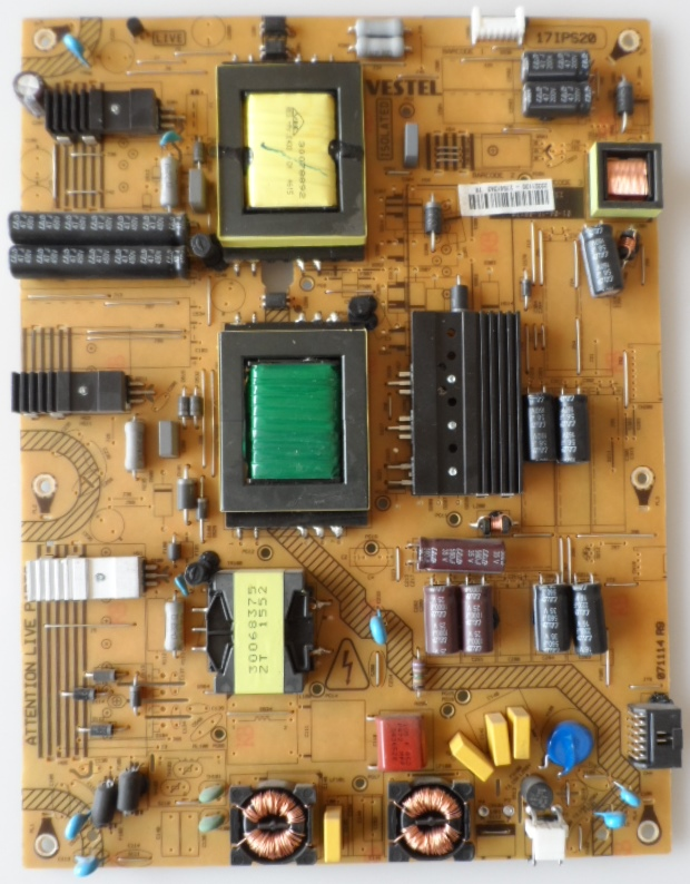 17IPS20/43INC/VES/HIT POWER BOARD ,17IPS20, for 43 inc DISPLAY, 23321130,27561343,071114R9