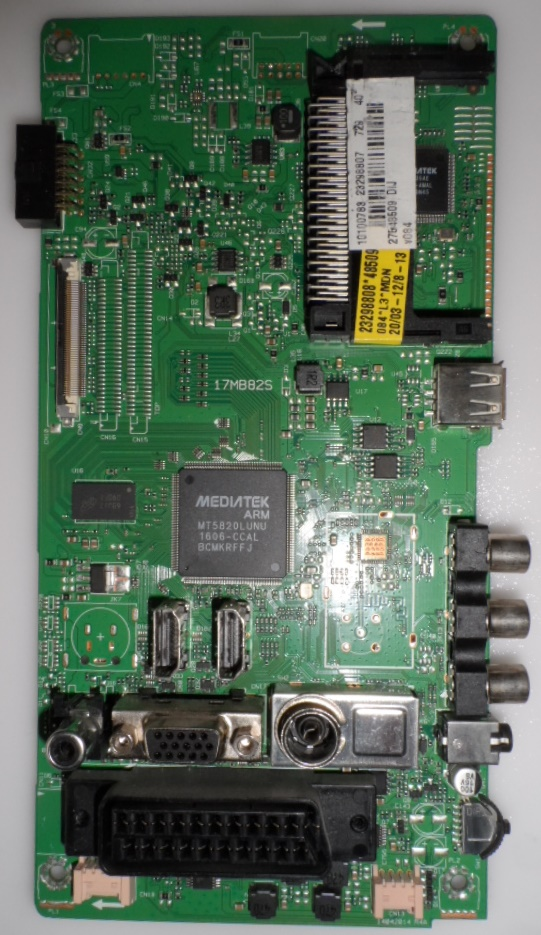 17MB82S/40INC/TFK/1 MAIN BOARD 17MB82S,for 40inc DISPLAY ,10100783,23298807,27548609,