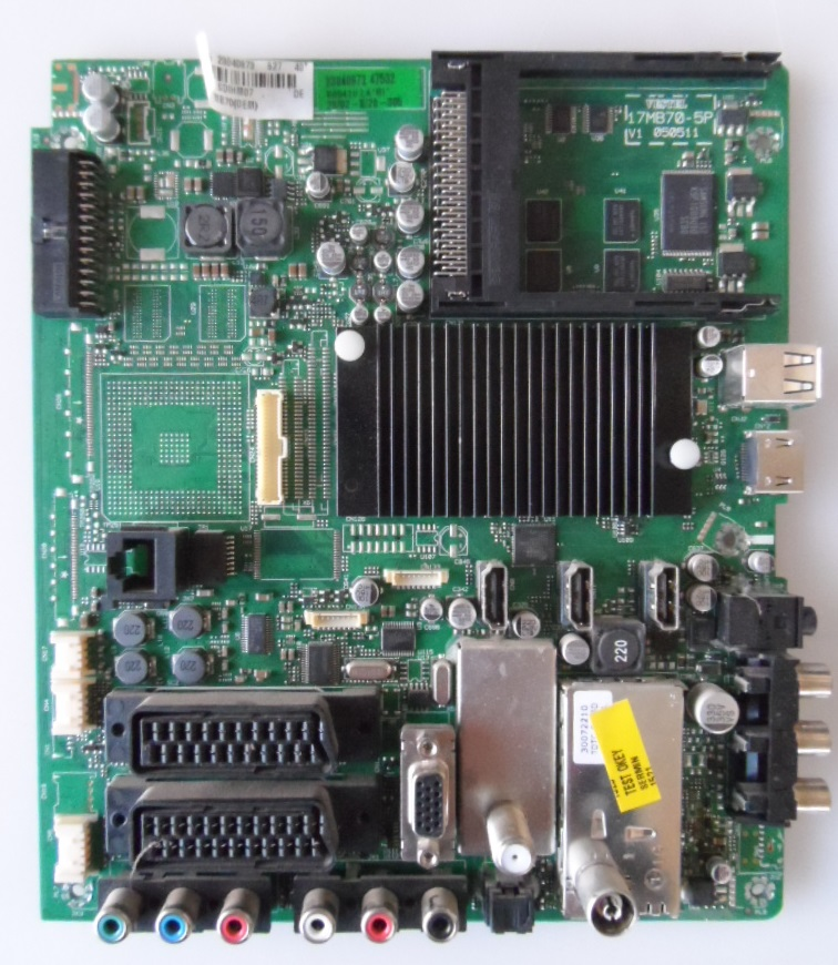 17MB70/40INC/TFK MAIN BOARD ,17MB70-5P,V1 050511,  for 40 inc DISPLAY ,10077805,23040873,26847533,
