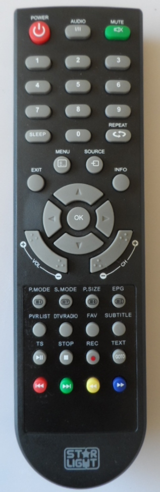 RC/STARLIGHT/32DM2000 ORIGINAL REMOTE CONTROL for, STARLIGHT 32DM2000,STARLIGHT 32DM2200,