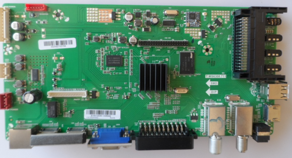 MB/T.MS6308.711/SHARP/55CFE6224 MAIN BOARD T.MS6308.711 for SHARP LC-55CFE6224E