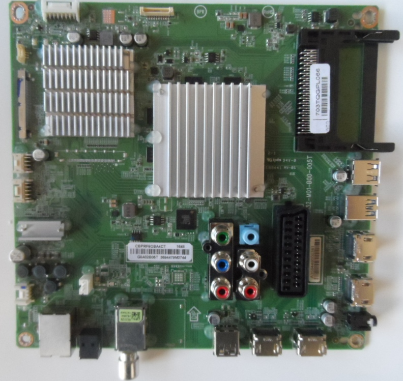 MB/49INC/PH/PUH6101/88 MAIN BOARD ,715G8132-M01-B00-005T, for PHILIPS 49PUH6101/88 UHD 4K