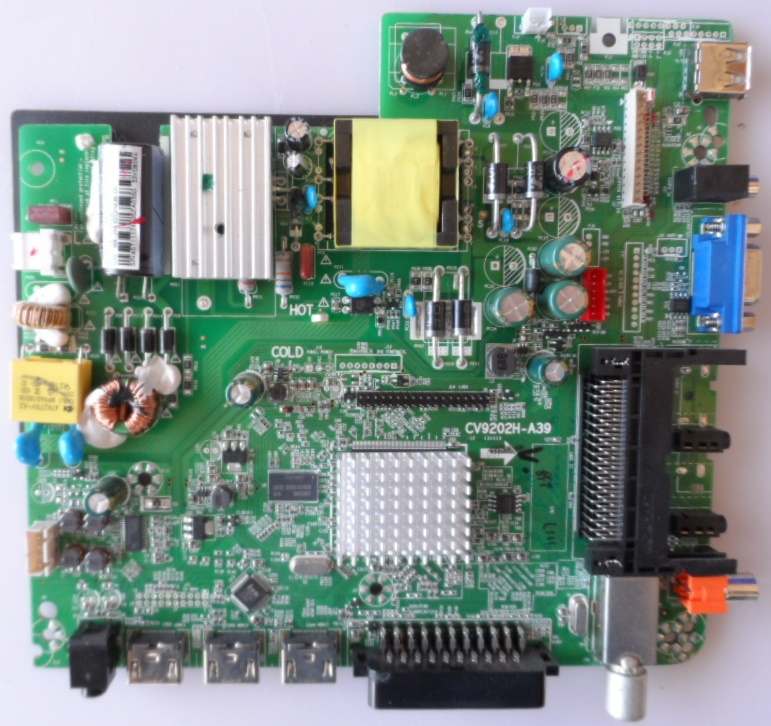MB/CV9202H-A39/NEO/2816DVB MAIN BOARD CV9202H-A39  for NEO LED-2816DVB