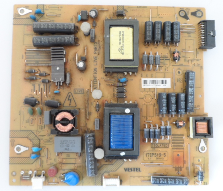 17IPS19-5/39INC/NEO POWER BOARD ,17IPS19-5,V.1 061112 for 39inc DISPLAY ,23141874 27082491,