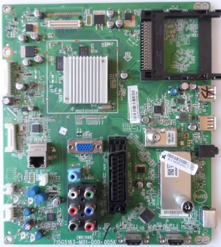 MB/42INC/PH/42PFL3507 MAIN BOARD ,715G5163-M01-000-005K, for PHILIPS 42PFL3507K/12