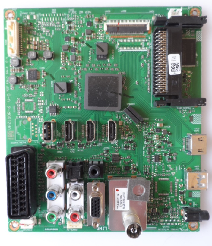 MB/32INC/GRUNDIG/32VLE8131 MAIN BOARD, VPZ190R-6 V-0, for GRUNDIG 32