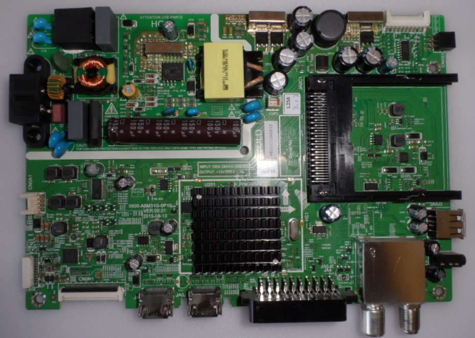 MB/5800-A6M31G-0P10/STRONG MAIN BOARD, 5800-A6M31G-0P10,  for ,STRONG SRT 32HX4003,
