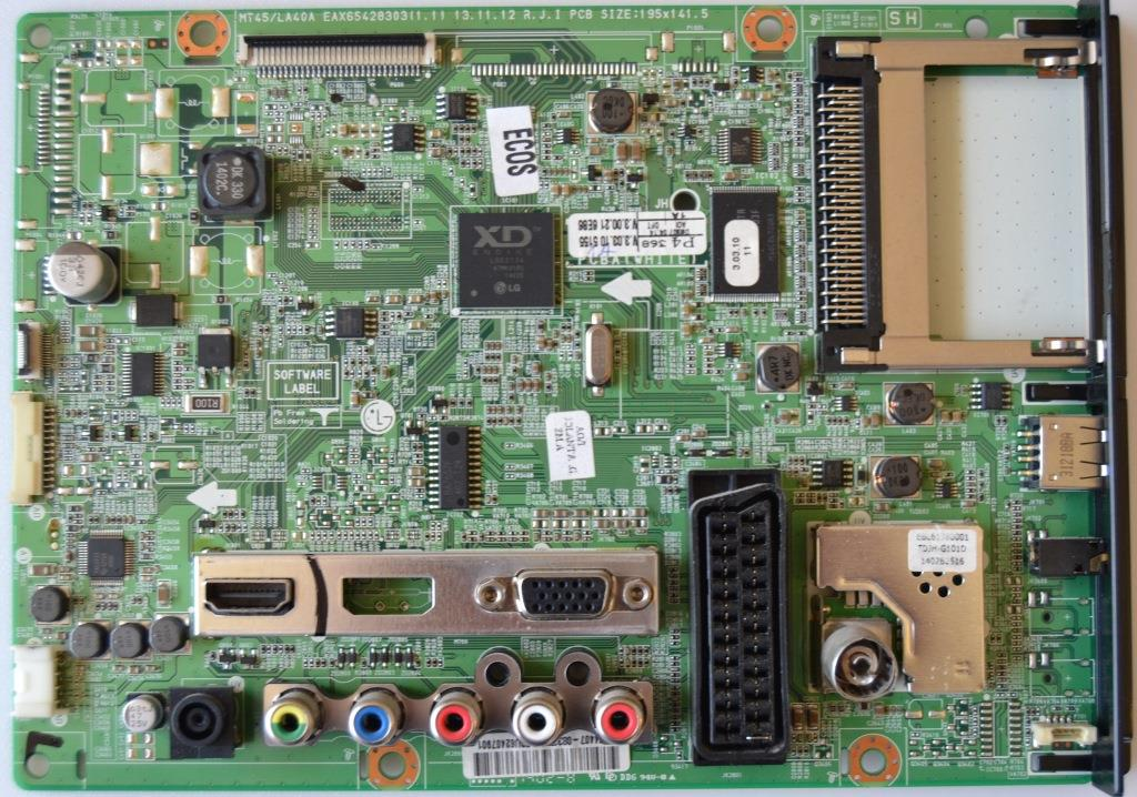 MB/LG/24MT45D MAIN BOARD   ,EBU62407901,EAX65428303(1.1),  for, LG 24MT45D