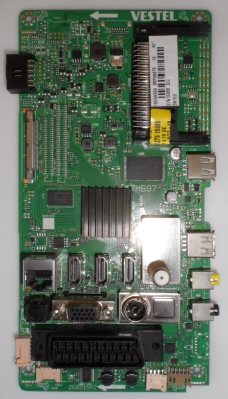 17MB97/40INC/VES/TECSAT MAIN BOARD ,17MB97 , for 40 inc DISPLAY ,10099359,23298275,27515988,