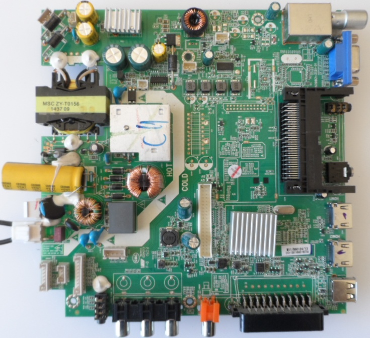 MB/MS308C1-ZC01-01/MPMAN MAIN BOARD ,MS308C1-ZC01-01, for ,MPMAN TV330,