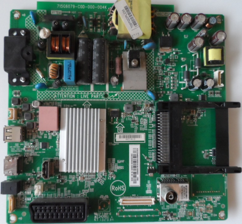 MB/32INC/PH/32PFL3088 MAIN BOARD ,715G6079-C0D-000-004K, for, PHILIPS ,32PFL3088H/12