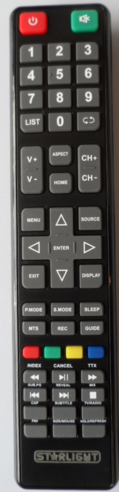 RC/STARLIGHT/43DM6500 ORIGINAL REMOTE CONTROL for, STARLIGHT 43DM6500 SMART
