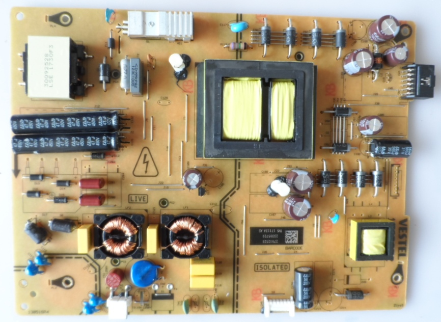 17IPS72/55INC/VES/TOSH POWER BOARD, 17IPS72, for 55 inc DISPLAY, 27912829,23395729,