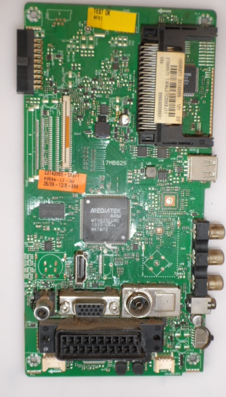 17MB82S/24INC/PHI/24PFL2908 MAIN BOARD,17MB82S, for ,PHILIPS, 24PFL2908,H,/12,23143965,