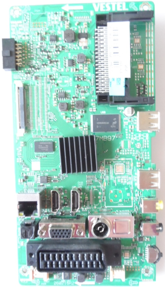 17MB97/32INC/TFK/T32TX282 MAIN BOARD ,17MB97,  for 32 inc DISPLAY,10098581,23299565,27472259,