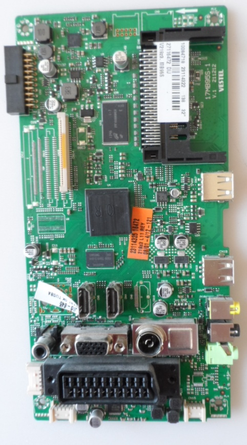 17MB95/32INC/TOSH MAIN BOARD, 17MB95S-1, for 32inc DISPLAY , 10084718,  23114322, 27116472,