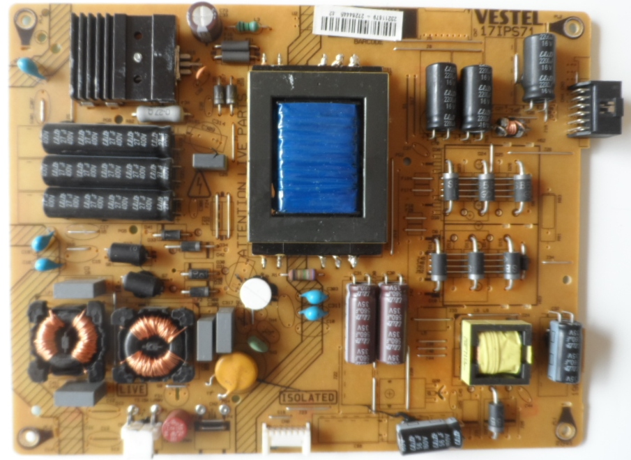17IPS71/42INC/VES/JVC POWER BOARD 17IPS71 for 42 inc DISPLAY 23211679 27264445