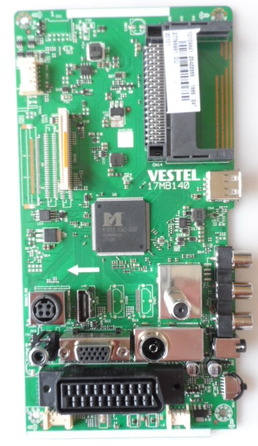 17MB140/24INC/TFK MAIN BOARD,  17MB140 , for 24 inc DISPLAY,10109641,23422365,27798981,