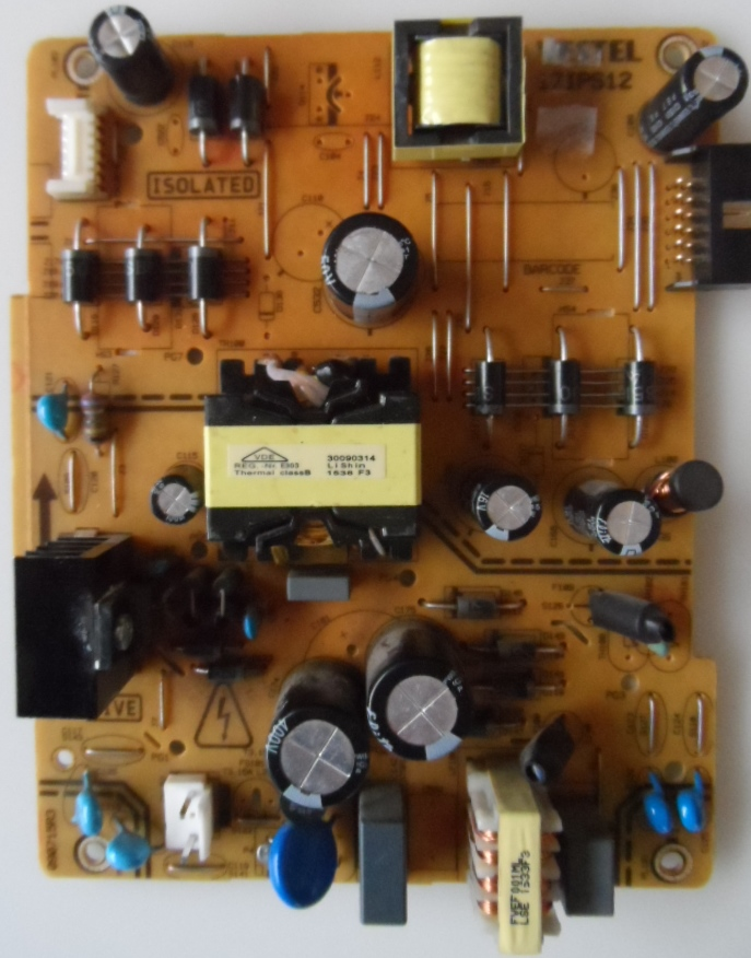 17IPS12/40INC/JVC/1 POWER BOARD ,17IPS12, for 40inc DISPLAY ,090715R3,