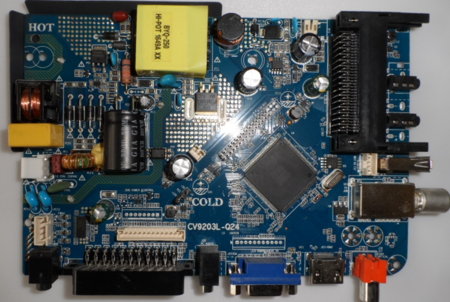 MB/CV9203L-Q24/SANG/2822 MAIN BOARD ,CV9203L-Q24 , for ,SANG LE-2822,