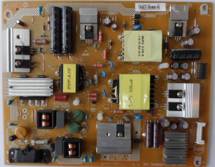 PB/43INC/PH/43PUS6162 POWER BOARD ,715G8620-P01-000-002S, for, PHILIPS 43PUS6162/12,