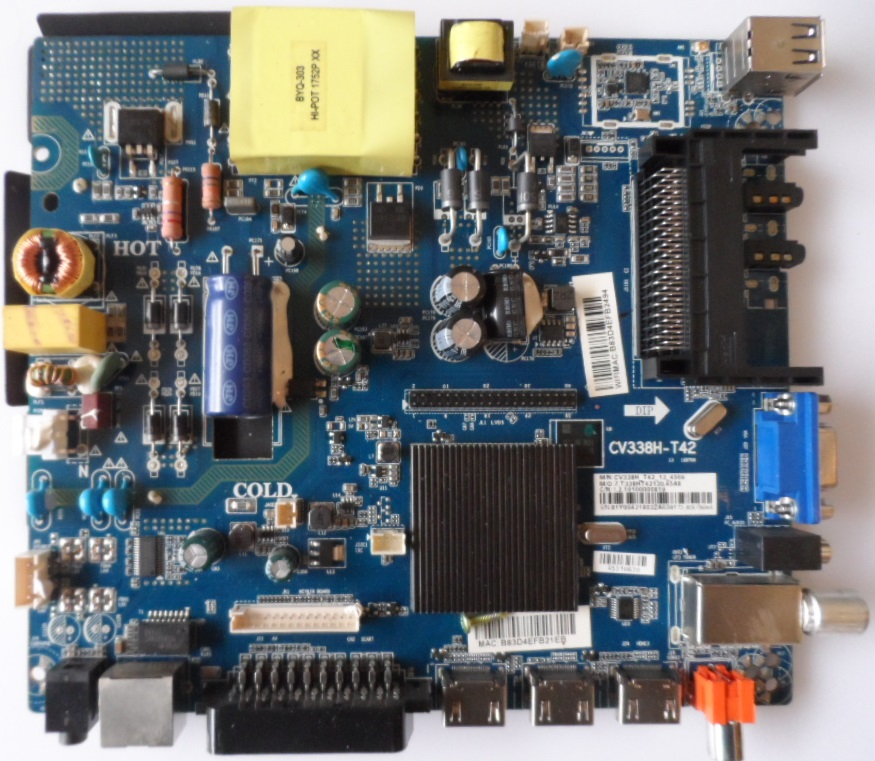 MB/CV338-T42/NEO/4310 MAIN BOARD ,CV338H-T42 , for ,NEO LED-4310 FHD SW