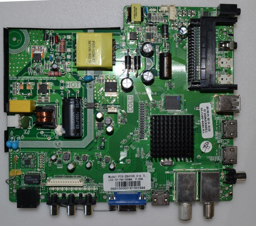 MB/P75-2841V6.0/ST.LAIGH/32DM6500/1 MAIN BOARD ,P75-2841V6.0, for STARLIGHT 32DM6500,