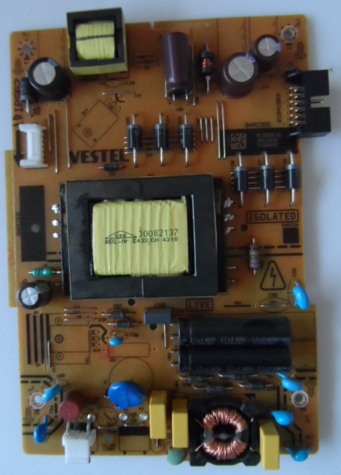 17IPS62/32INC/VES/HIT/1 POWER BOARD ,17IPS62, for 32 inc DISPLAY,28196873,23367482,010416R4,