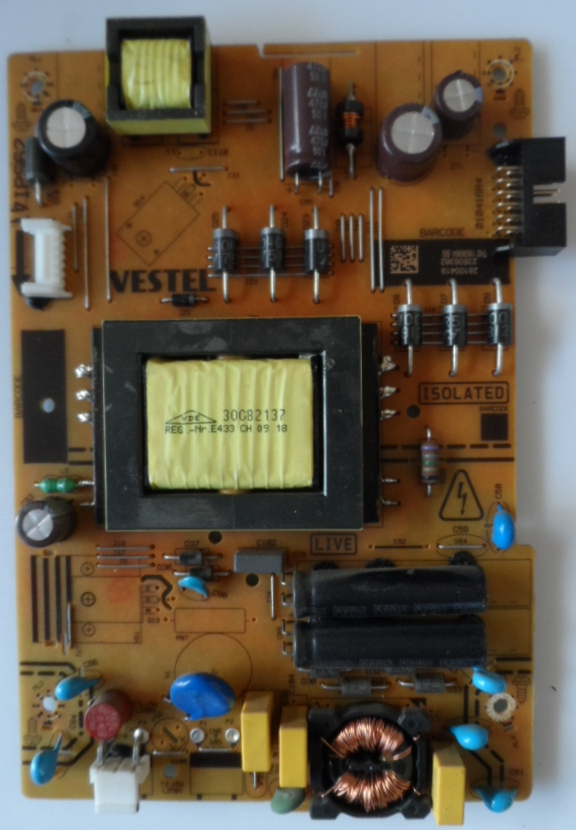17IPS62/32INC/JVC/9 POWER BOARD ,17IPS62, for 32 inc DISPLAY ,28100419,23506362,010416R4,