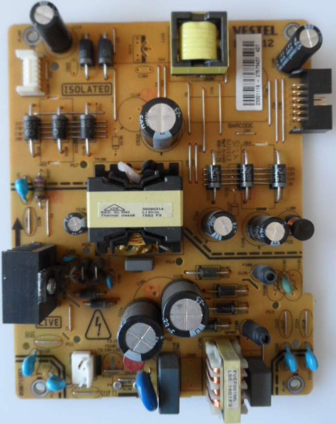 17IPS12/48INC/FIN/FF4830 POWER BOARD ,17IPS12, for 48inc DISPLAY  ,233211119,27573737,090715R3