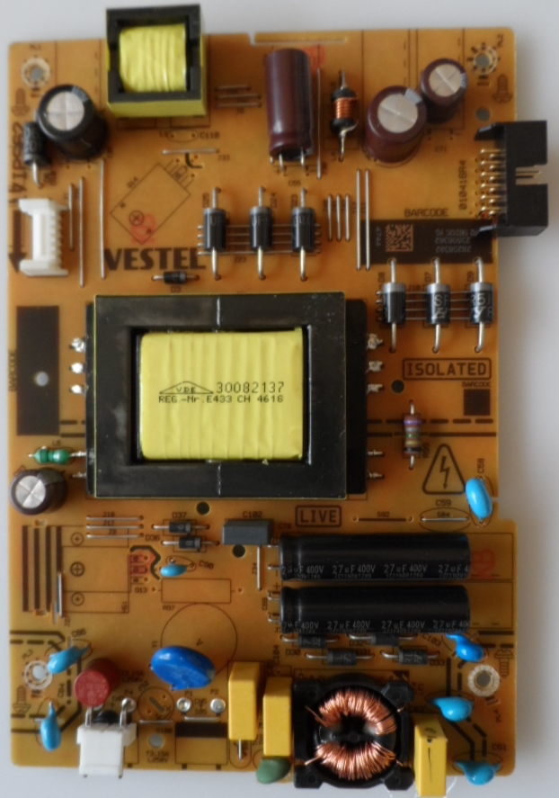 17IPS62/32INC/JVC/10 POWER BOARD ,17IPS62, for 32 inc DISPLAY ,28208382,23506362,010416R4,