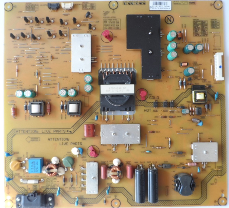 PB/49INC/PH/49PUS7909  POWER BOARD ,FSP201-4FS01, for PHILIPS 49PUS7909/12