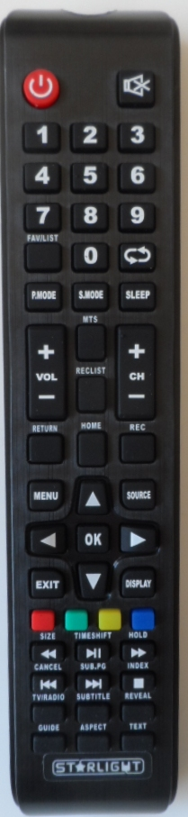 RC/STARLIGHT/55DM5500 ORIGINAL REMOTE CONTROL for STARLIGHT  55DM5500