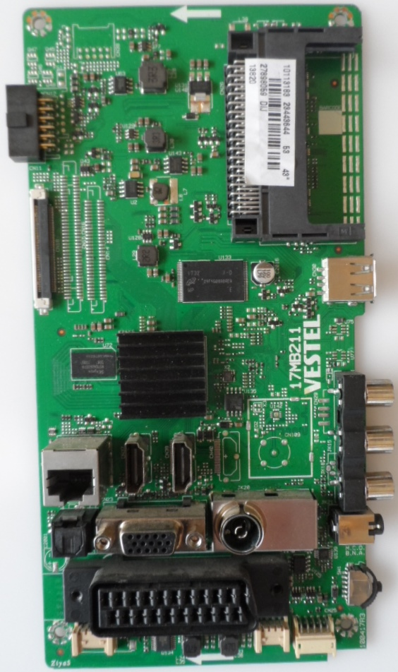 17MB211/43INC/NEO MAIN BOARD ,17MB211 , for 43inc DISPLAY,1013183,23443644,27898059,100417R3,