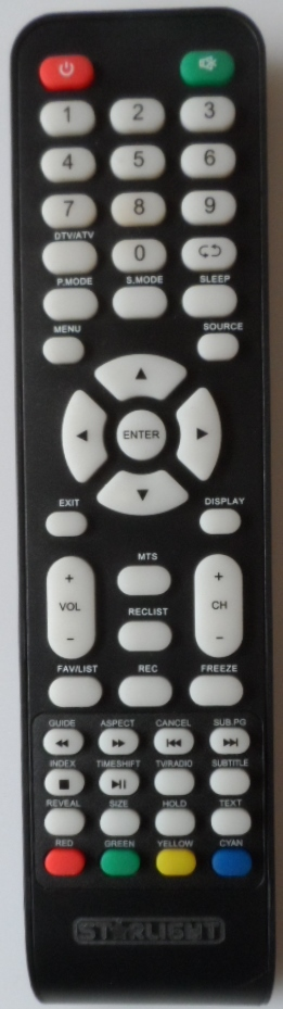 RC/STARLAIGHT/22DM3500 ORIGINAL REMOTE CONTROL for, STARLIGHT 22DM3500,