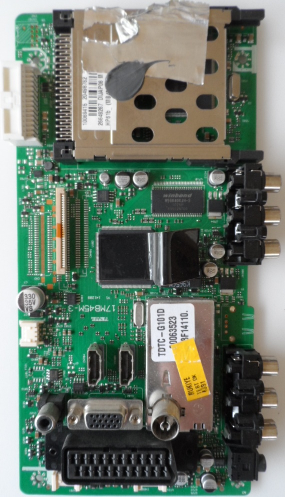 17MB45-3/32INC/TECHLINE MAIN BOARD ,17MB45-3,V1 141209,  for 32 inc DISPLAY ,0069415,20498762,26692492,