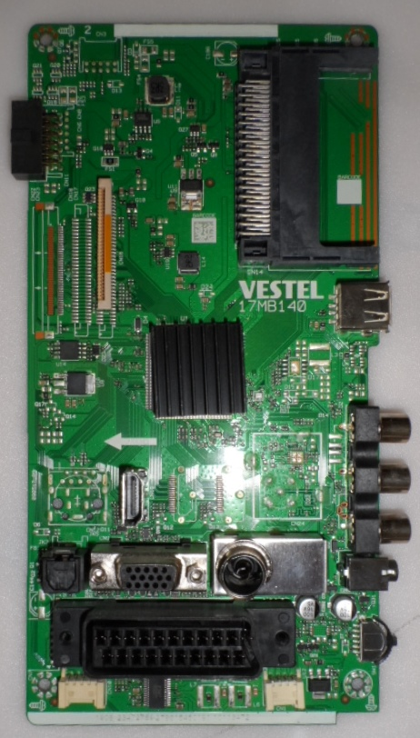 17MB140/39INC/TFK MAIN BOARD,  17MB140 , for TELEFUNKEN 39HB4000,1908,23472759,279615450191,10113472,